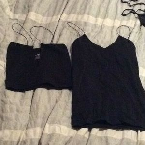 Intimately free people seamless crop and tank top